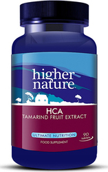 Higher Nature HCA Tamarind Fruit Extract 450mg 90 ταμπλέτες