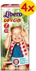 Libero Up & Go Super Pack No 7 (16-26kg) 4*34τμχ