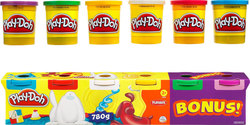 Hasbro Play-Doh 4+2 Classic Βαζάκια