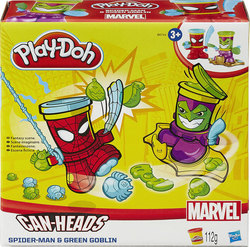 Hasbro Play-Doh Marvel Cans