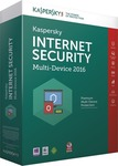 Kaspersky Internet Security Multi-Device 2016 (3 Licence, 1 Year)