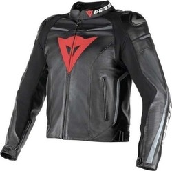 Dainese Super Fast Leather Black/Anthracite
