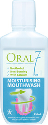 Oral Seven Moisturising Mouthwash 250ml