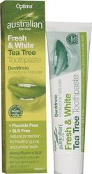 Optima Naturals Australian Tea-tree Fresh & White 100ml