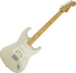 Fender Deluxe Stratocaster HSS Plus Top With IOS BLZ White