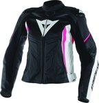 Dainese Avro D1 Lady Leather Black/White/Fucsia