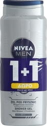 Nivea Shower Gel Silver Protect 500ml x2