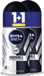 Nivea Black & White Power Invisible Roll-On 48h 50ml x2