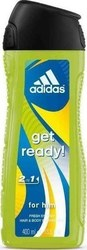 Adidas Get Ready Shower Gel 400ml
