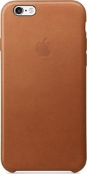 Apple Back Cover Leather Saddle Brown (iPhone 6/6s)
