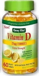 Vican Chewy Vites Vitamin D 60 μασώμενες ταμπλέτες