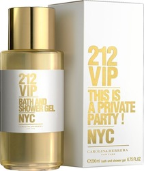 Carolina Herrera 212 VIP Bath & Shower Gel 200ml