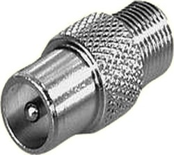 Edision Coaxial male - F-Connector female (07-00-0028)