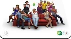 SteelSeries Surface QcK Sims 4 Edition