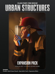 Indie Boards And Cards Flash Point: Fire Rescue Urban Structures Expansion