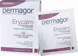 Dermagor Erycalm Wipes 14τμχ
