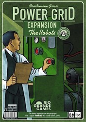 Rio Grande Games Power Grid: The Robots Expansion