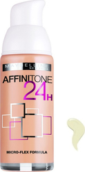 Maybelline Affinitone Foundation 24h Spf19 05 Light Beige 30ml