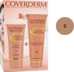 Coverderm Gift Set Perfect Face Combi Pack2 Make Up No 9, Removing Cream