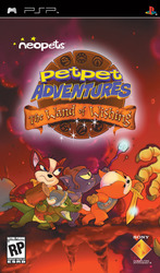 Neopets Petpet Adventures The Wand of Wishing PSP