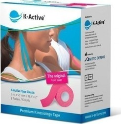 K-Active Tape Classic 5cmX5m Pink