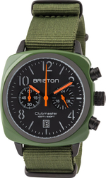 Briston Clubmaster Classic Acetate Chrono Green Army 13140.PBA.574.3.NGA