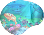 OEM MousePad Seabed with fish
