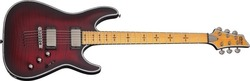 Schecter Hellraiser Extreme C-1M Crimson Red Burst Satin