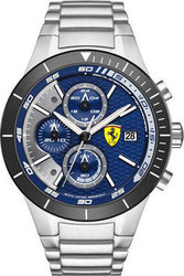 Ferrari Red Evo Scuderia Mens Chrono 0830270