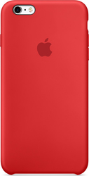 Apple Back Cover Silicone Red (iPhone 6s)
