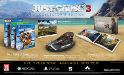 Just Cause 3 (Collector's Edition) XBOX ONE