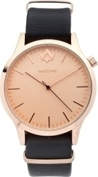 WatchMe Retro 01-0119 Black-Rose Gold