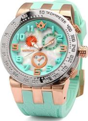 WatchMe Love 01-0007 Turquoise-Gold