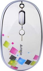 A4Tech Wireless PadLess Mouse White