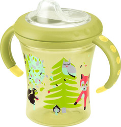 Nuk Easy Learning Starter Cup με Ρύγχος 200ml Πράσινο, 6m+