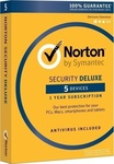 Symantec Norton Security Deluxe 3.0 (5 Licences , 1 Year) Key