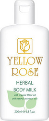 Yellow Rose Herbal Body Milk 200ml