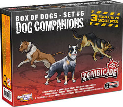 Guillotine Games Zombicide: Dog Companions Expansion