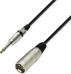 Adam Hall Microphone Cable XLR male - 6.3mm male 1m (K3MMP0100)