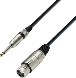 Adam Hall Cable XLR female - 6.3mm male 1m (K3MFP0100)