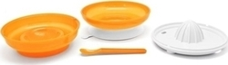 Nuvita Pappafacile 4-in-1 Multi-use Weaning Kit Orange