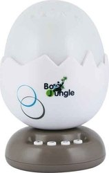Bo Jungle B-Egg Night Light Projector with Music Taupe