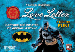 Alderac Love Letter: Batman Edition (Boxed)
