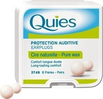 Quies Wax Earplugs (8 Ζεύγη)