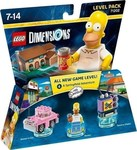 Lego Dimensions - The Simpsons Level Pack