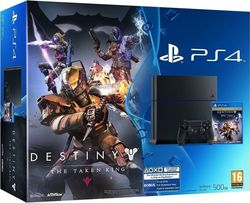 Sony Playstation 4 (PS4) 500GB & Destiny The Taken King