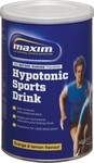 Maxim Hypotonic Sports Drink 480gr Orange Lemon