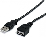 De Tech USB 2.0 Cable USB-A male - USB-A female 5m (18031)