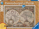Antique World Map 1000pcs Ravensburger
