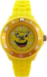 Colori Kids Collection All Yellow Rubber Strap CLK027